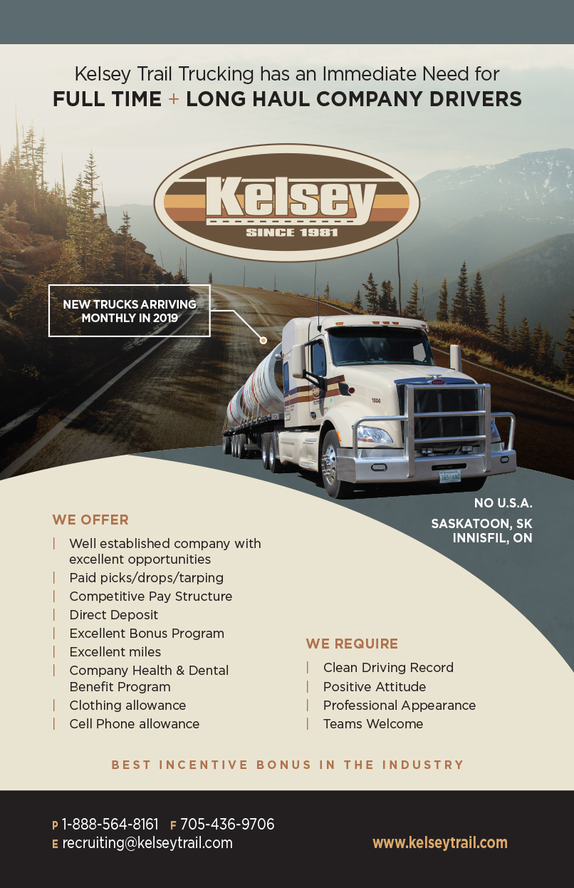 Kelsey Trail Trucking - Over The RoadOver The Road
