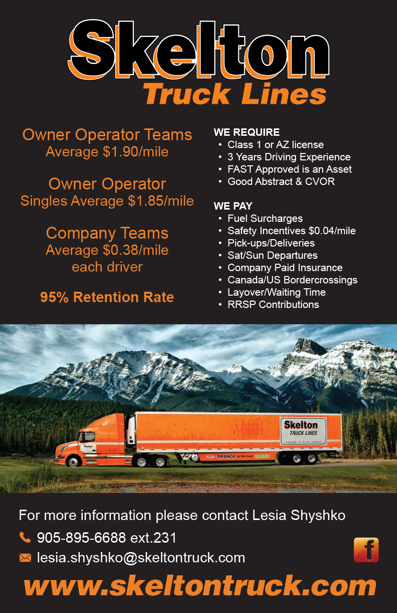 Skelton Truck Lines Ltd  - Over The RoadOver The Road