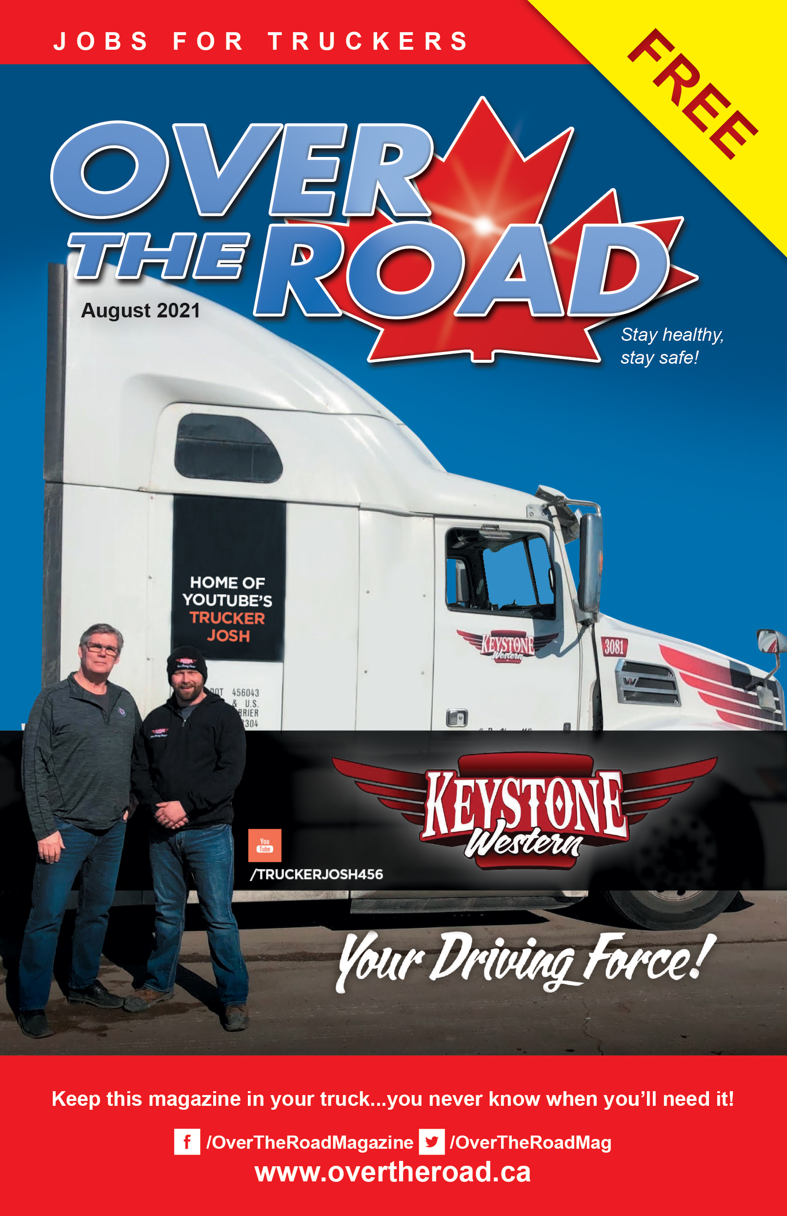 OverThe Road August Issue